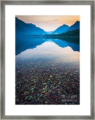 Lake Mcdonald Serenity Framed Print