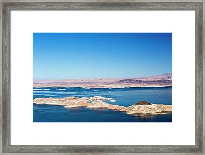 Lake Mead Framed Print by Ashley Cooper