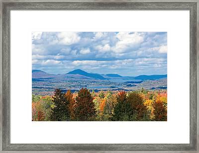 Lake Memphremagog Vermont Framed Print by William Alexander