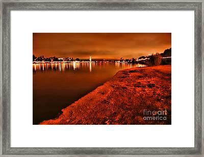 Lake Merritt   Framed Print
