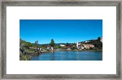 Lake Merritt In Springtime, Oakland Framed Print by Panoramic Images