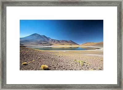 Lake Miscanti Framed Print by Peter J. Raymond