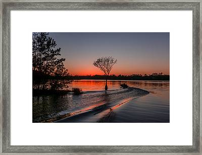 Framed Print featuring the photograph Lake Moultrie by RC Pics