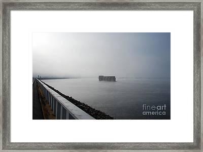 Lake Murray Dam Sc Framed Print
