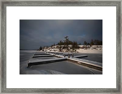 Lake Muskoka Framed Print