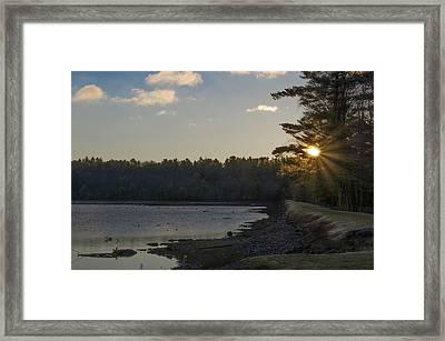 Lake Naomi Framed Print