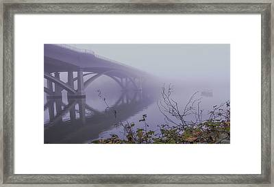 Lake Natoma Crossing Framed Print