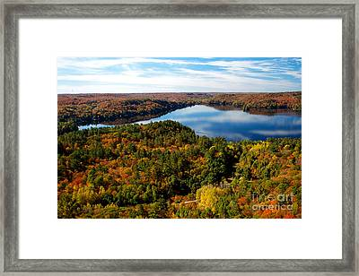 Lake Of Bays Framed Print