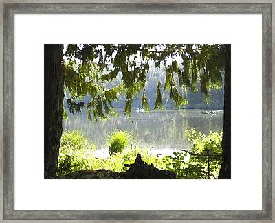 Lake Of Dreams Framed Print