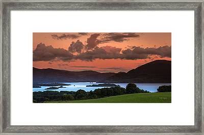 Lake Of The Learned Framed Print by Tim Bryan