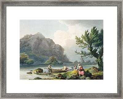 Lake Of Wyndermere, From The Romantic Framed Print