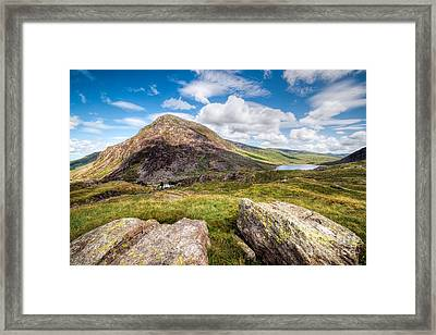 Lake Ogwen Framed Print