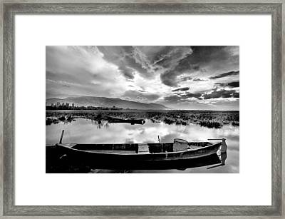 Lake Framed Print