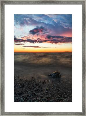 Lake Ontario Sunset Framed Print