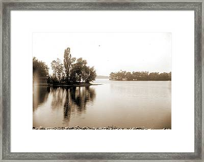 Lake Orion, Mich. From R.r Framed Print
