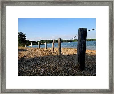 Lake Ouachita Framed Print
