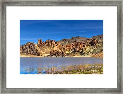 Lake Owyhee Framed Print by Robert Bales