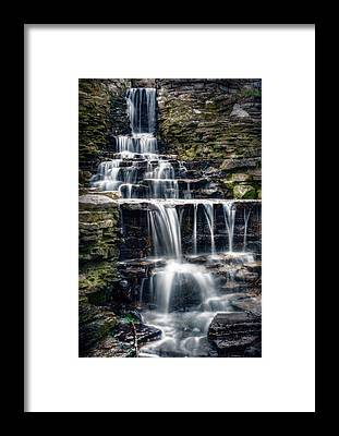 Waterfalls Framed Prints