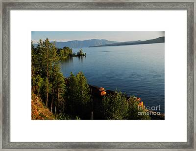 Lake Pend Orielle Framed Print