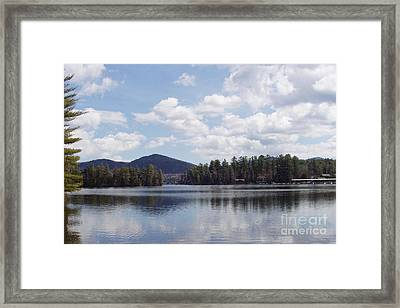 Framed Print featuring the photograph Lake Placid by John Telfer