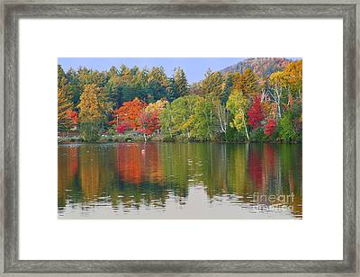 Lake Placid Framed Print