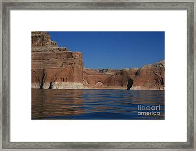 Lake Powell Landscape Framed Print
