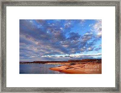 Lake Powell Morning Framed Print