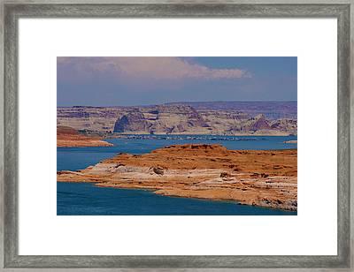 Lake Powell Framed Print