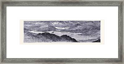 Lake Prospect United States Of America Framed Print by American School