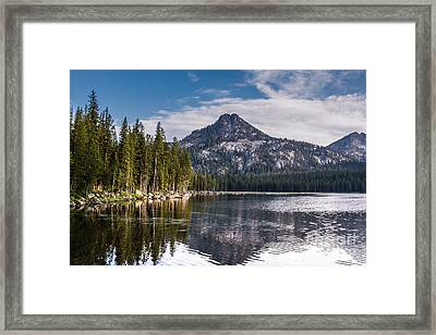 Lake Reflection Framed Print by Robert Bales