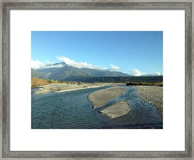 Lake Framed Print by Ron Torborg