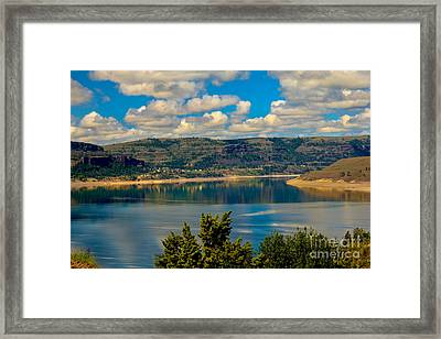 Lake Roosevelt Framed Print