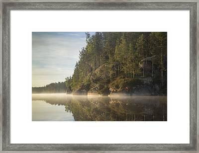 Lake Saimaa In September 3 Framed Print