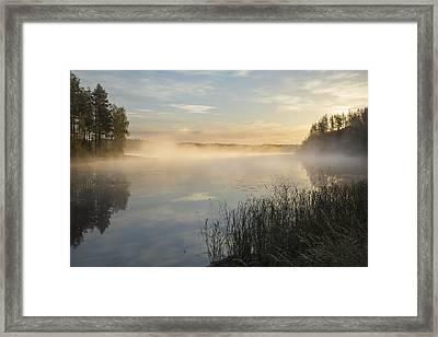 Lake Saimaa In September 6 Framed Print