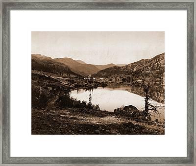 Lake San Cristoval Sic, Jackson, William Henry, 1843-1942 Framed Print