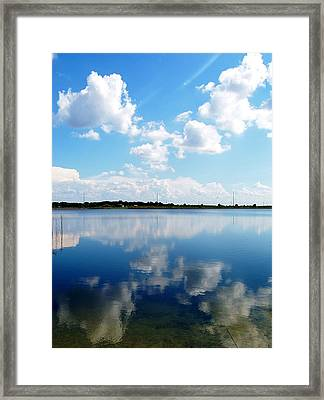Framed Print featuring the photograph Lake Sears 000 by Chris Mercer