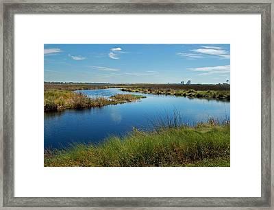 Lake Shelby Daytime  Framed Print