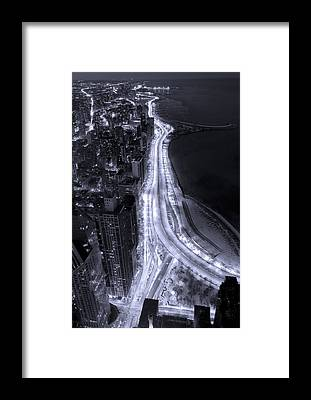 Beach City Framed Prints