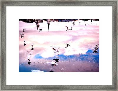 Lake Sonata Framed Print