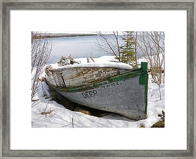 Lake Superior Memories Framed Print by Sandra Updyke