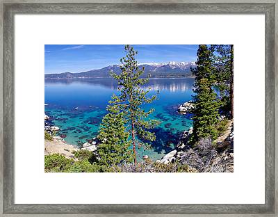 Lake Tahoe Beauty Framed Print by Scott McGuire