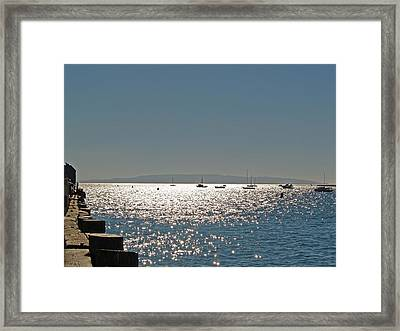 Framed Print featuring the photograph Lake Tahoe - California by Haleh Mahbod