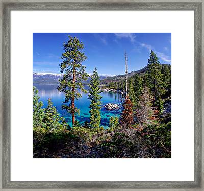 Lake Tahoe Eastern Shore Framed Print