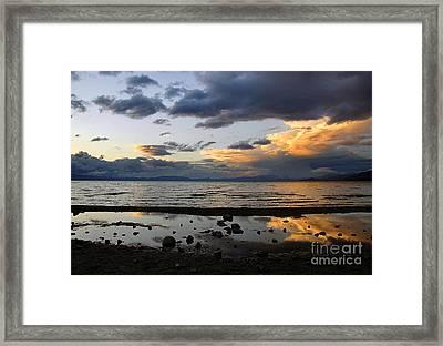 Lake Tahoe In May Framed Print