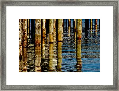 Lake Tahoe Reflection Framed Print by Bill Gallagher