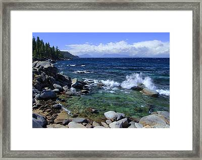 Lake Tahoe Wild  Framed Print