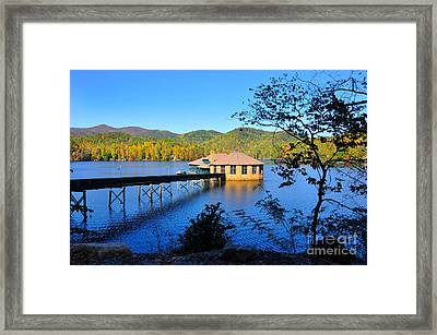 Lake Tahoma Nc Framed Print by Stuart Mcdaniel