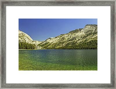 Lake Tenaya-yosemite Series 12 Framed Print by David Allen Pierson