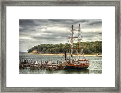Lake Texoma  Framed Print by Kimberly Danner