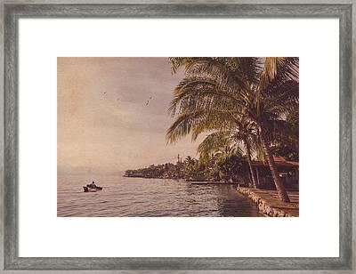 Lake Toba Framed Print